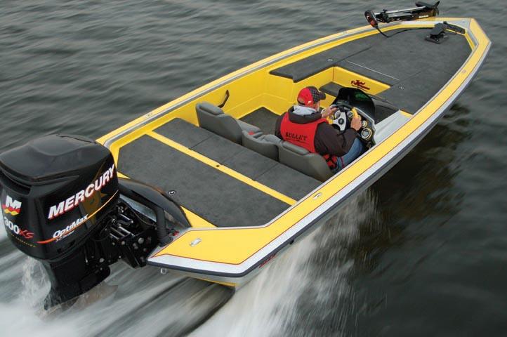 21XRD Bullet Boat